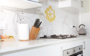 Fully self-serve kitchen for dine in and relaxed cooking